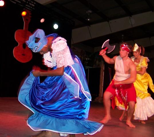 Cuban dance troupe